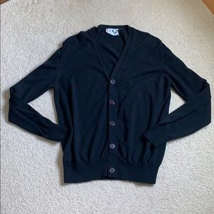 Barneys New York COOP Button Front Wool Cardigan M